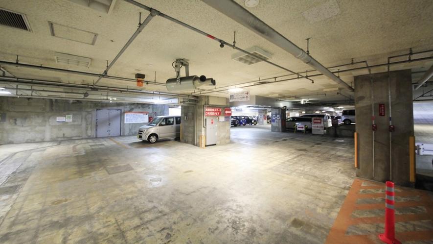 【駐車場】YTパーク24の地下駐車場