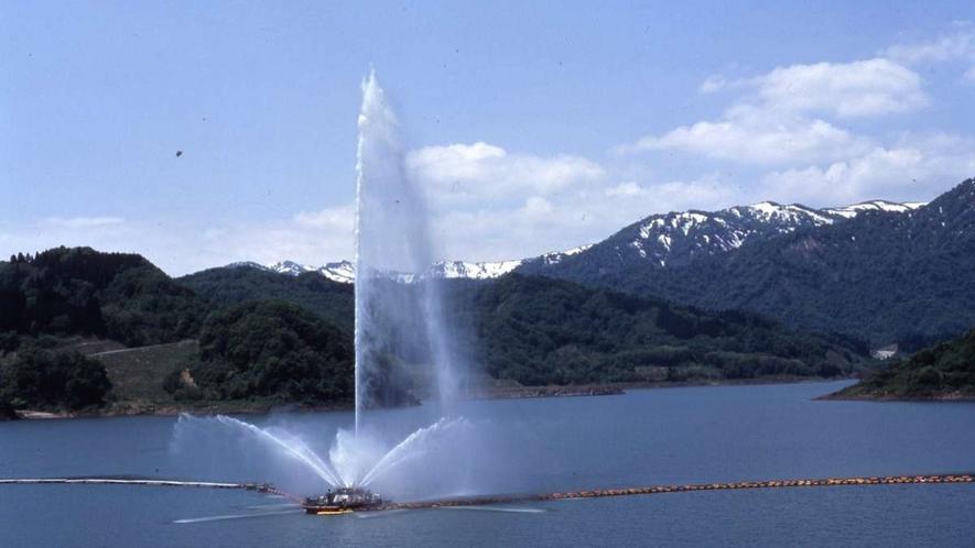 寒河江ダム(月山湖)