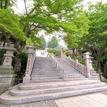 *(大山観光)阿夫利神社の階段