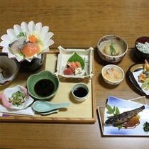 花夢・花夢スタンダード夕食の一例