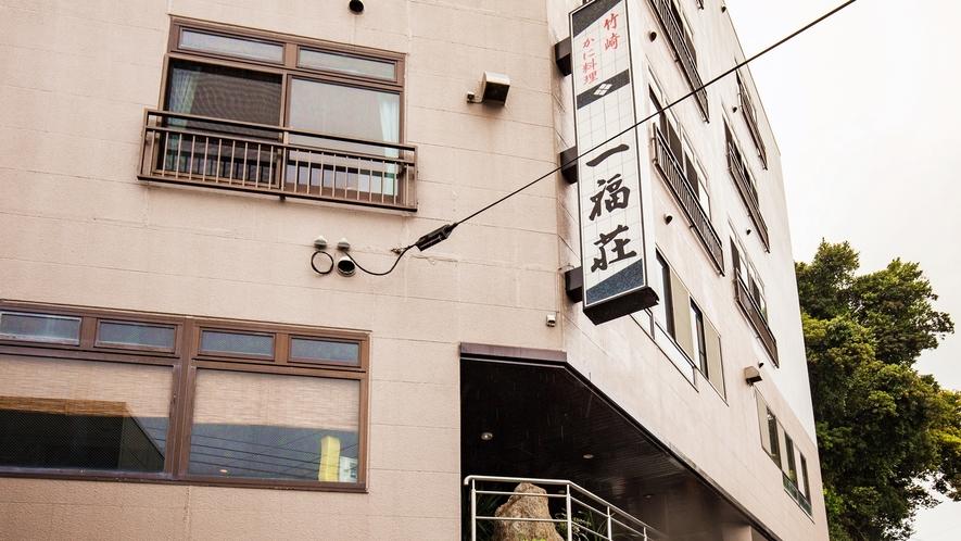 *【外観】お部屋からは竹崎港の景色が広がります!
