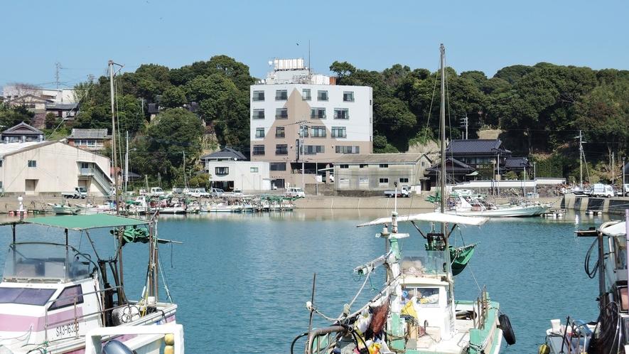 *【周辺漁港】なんといっても宿の目の前は竹崎かにが揚がる漁港!