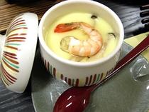 夕食一例(茶碗蒸し)