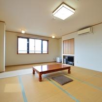 *客室一例/新館17帖オーシャンビュー 家族で友人とグループで・・・広々使えるお部屋