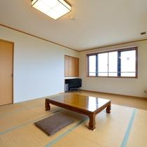 *客室一例/新館14帖オーシャンビュー 開放感溢れるお部屋です。