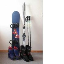 無料レンタルスキーorスノーボード