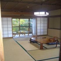 庭側の和室②