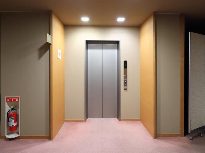 【施設/廊下】エレベーター