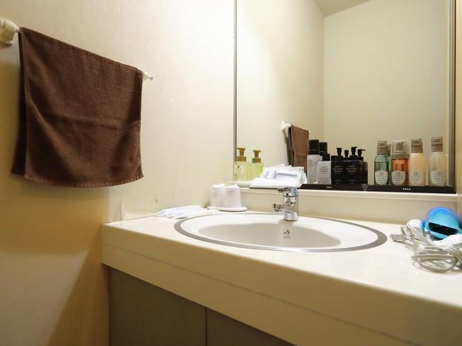 和室五人部屋(バスなし)洗面所