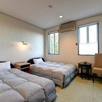 *【カジュアルツイン】リーズナブルに宿泊されたいお客様にオススメのお部屋でございます。