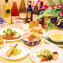 *【お夕食一例】伊豆の幸付欧風コース(一例)※お刺身は別注(540円)になります