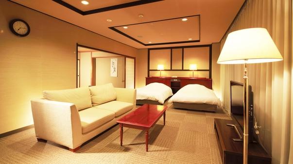 ◆禁煙指定◆スイートルーム◆(70平米・8畳の畳含む和洋室)