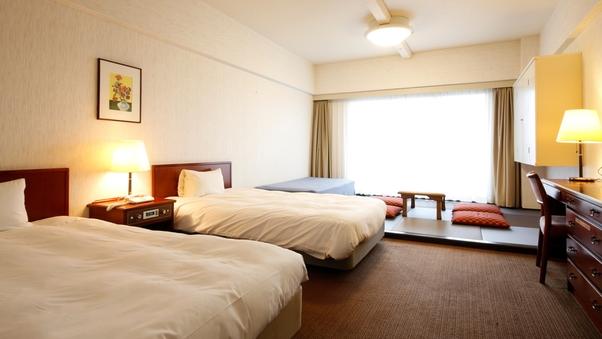 ◆禁煙指定◆ファミリールーム(35平米に4畳含む和洋室)