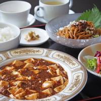【日帰り・ランチ+温泉入浴付】中国料理セットランチ 〜麻婆豆腐〜