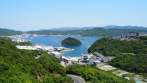 ★地元福良湾を見渡せる景色もお楽しみいただけます。