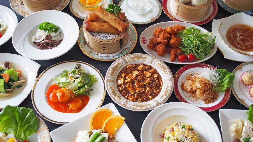 ★中国料理オーダーバイキング 料理一例