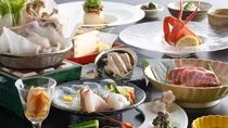 ★【11~3月限定】淡路島3年とらふぐとグルメ食材が楽しめるふぐ会席(一例)