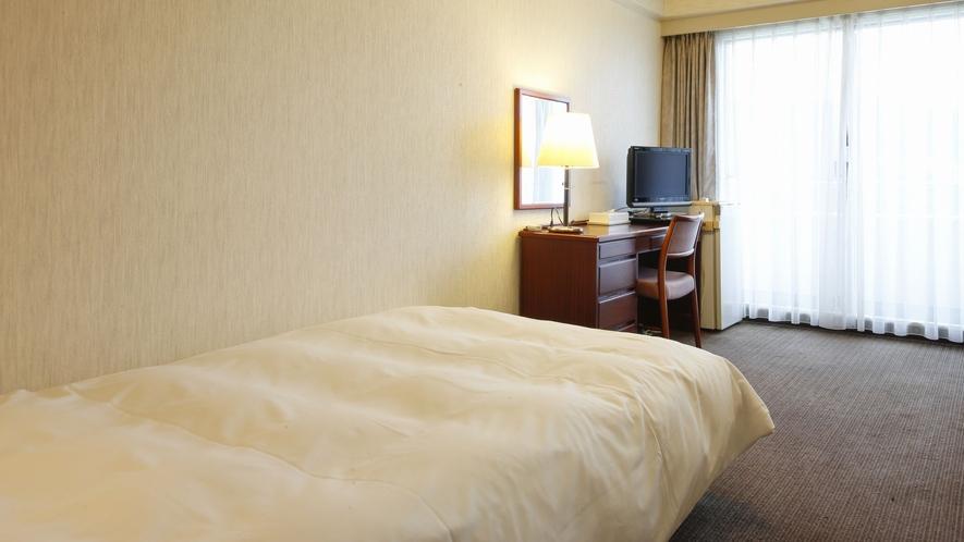 【シングルルーム】(18㎡全室山側)全館Free Wi-Fi。喫煙・禁煙タイプはホテルお任せとなりま
