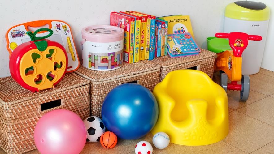 ★お子様がお楽しみいただけるおもちゃ、絵本などをご用意しております(ベビールーム「SORA~空~」)