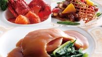 ★特別一品料理「フカヒレ」。「ロブスター」または「淡路牛ロース」へ変更も可能(一例)