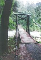 景勝地恋路のつり橋
