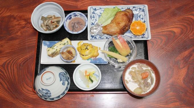 【朝食付プラン】最終イン22時!朝はからだに優しい和定食