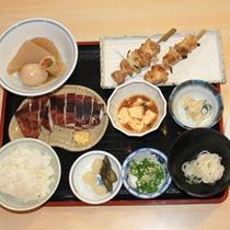 *【夕食例】メニューは日替わり!家庭的なお食事に舌鼓。