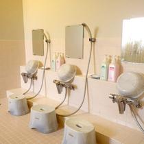 *【男性大浴場】洗い場も完備しております!