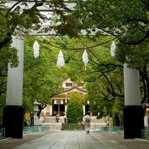 湊川神社 朝の散策に【ホテル目の前】