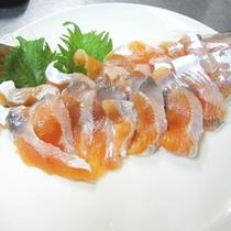 *【ヒメマスのお刺身】北海道の旬!新鮮なヒメマスをお刺身で。