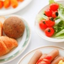 【洋食朝食例】洋食派にも満足のメニューを日替わりでご用意しております!