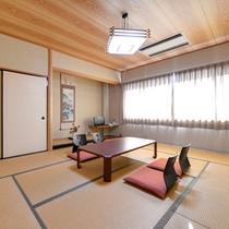 *和室10畳(客室一例)/自然豊かな秋吉台に佇む当館だからこその絶景をお部屋からお愉しみいただけます。