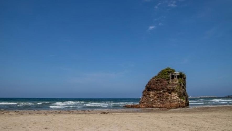 稲佐の浜(出雲大社から車でスグ)