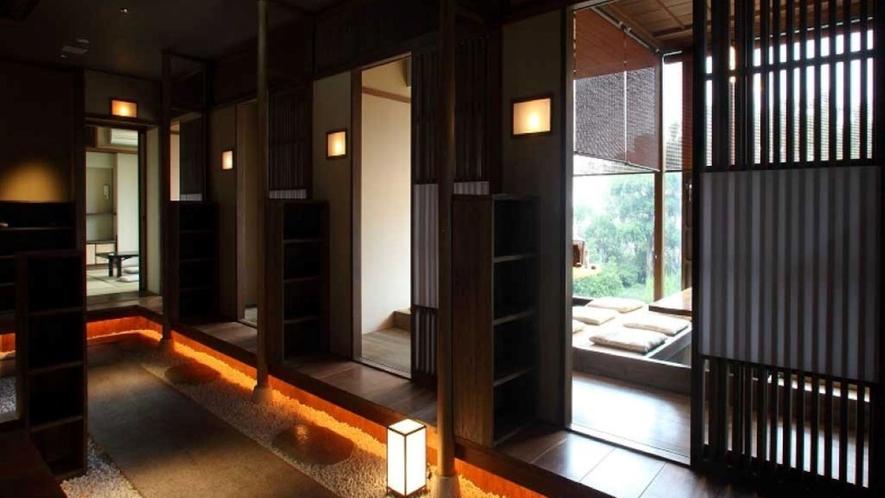 御食事処神苑 館内 完全個室のお部屋も多数ございます!!
