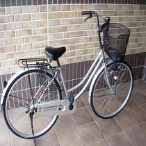 ちょっとしたお出かけにご利用いただける貸し自転車がございます