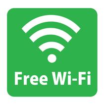Wi-Fiは全館利用可能です。