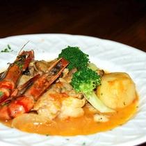 *【夕食(一例)】美味しいお食事に舌鼓♪ぜひご賞味ください(料理一例)