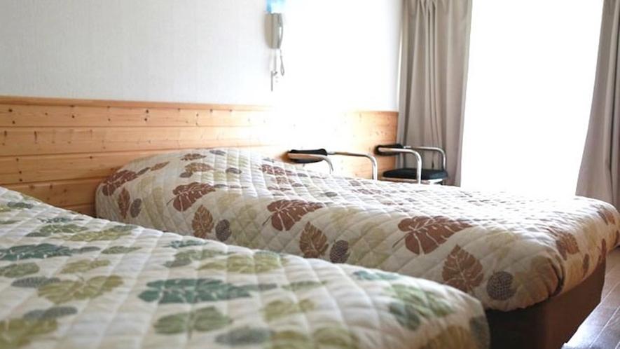 *ツインルーム/全室禁煙、バス・トイレなし、一人旅・カップル・ご夫婦のお客様におすすめです。