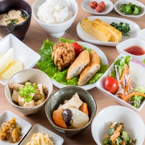 Lohas無料健康朝食イメージ【メニューは日替わり】