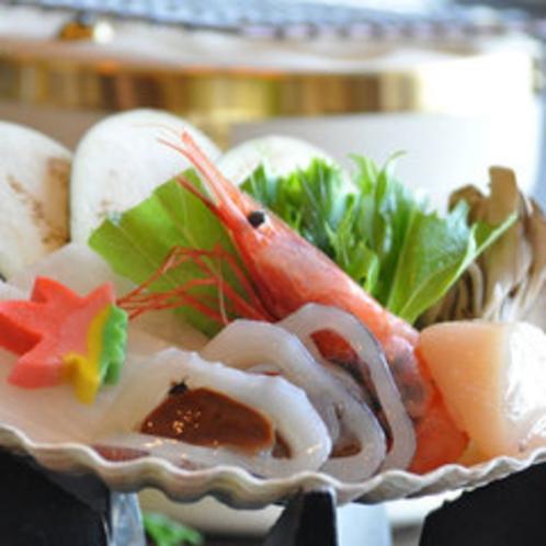 いしりの貝焼き鍋