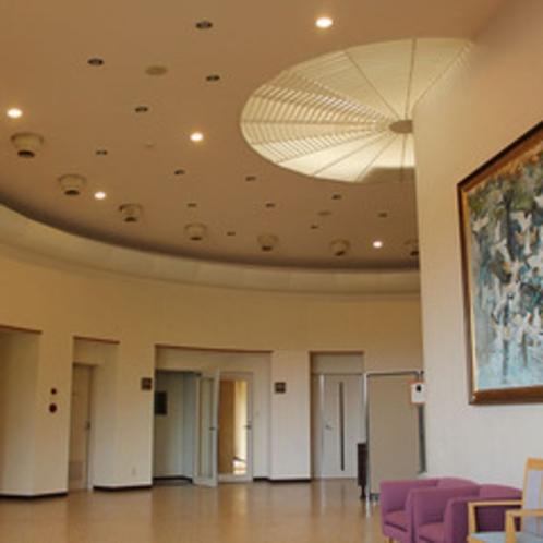 アンモナイトのような天井