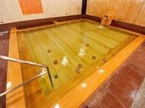 大浴場:檜風呂