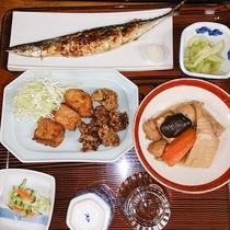 【夕食一例】ビジネスプラン用の日替わり家庭料理