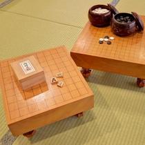 *時間を気にせず、ゆっくり将棋、囲碁をさしませんか?娯楽施設にてご利用いただけます。