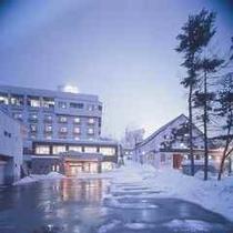 冬のホテルノース志賀