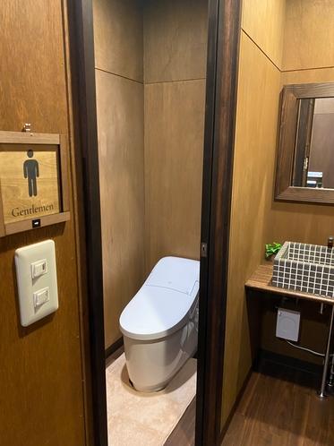 トイレをリニューアルしました!