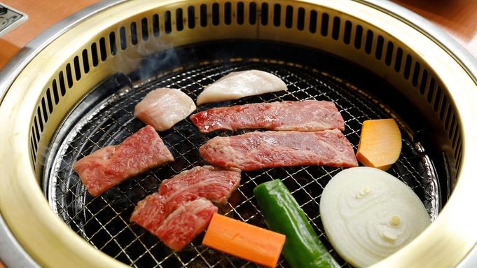 【焼き肉食べ放題】しいばの湯併設セルフレストラン「山法師」にて《ロース・カルビ・地鶏など》