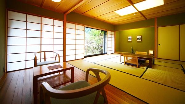 メゾネット和洋室 ◆大人数利用に最適◆ ‐檜温泉内風呂付‐