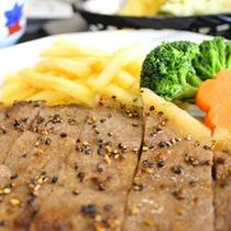 国産和牛のステーキ彡