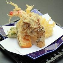 ◇山菜と日本海の幸の天ぷら